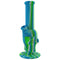 "8"" SKULL SILICONE WATER PIPE"