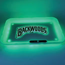 Large LED Glow Backwood Tray
