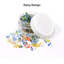 Glass Screen Daisy Design 200psc Per Jar