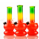 "5"" Mini Bong Rasta Color Design"