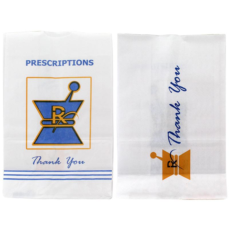 Large Size Kraft Pharmacy Paper Bags