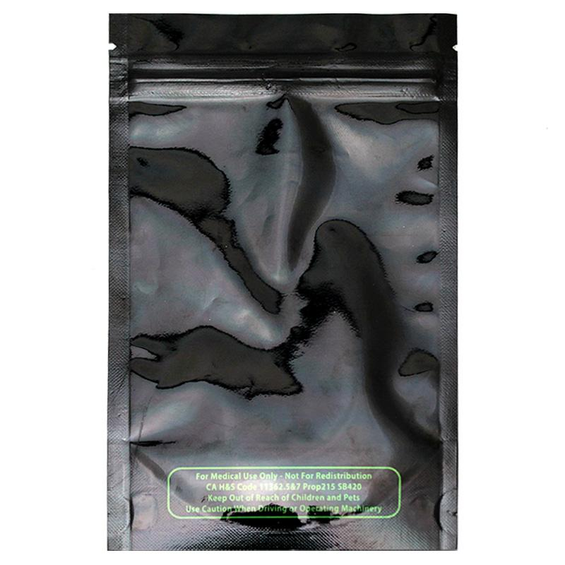Mylar bags 1/4 ounce size pack of 50