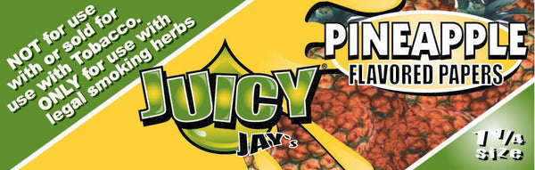 "Juicy Jay's 1 1/4"" Size Rolling Paper Pineapple"