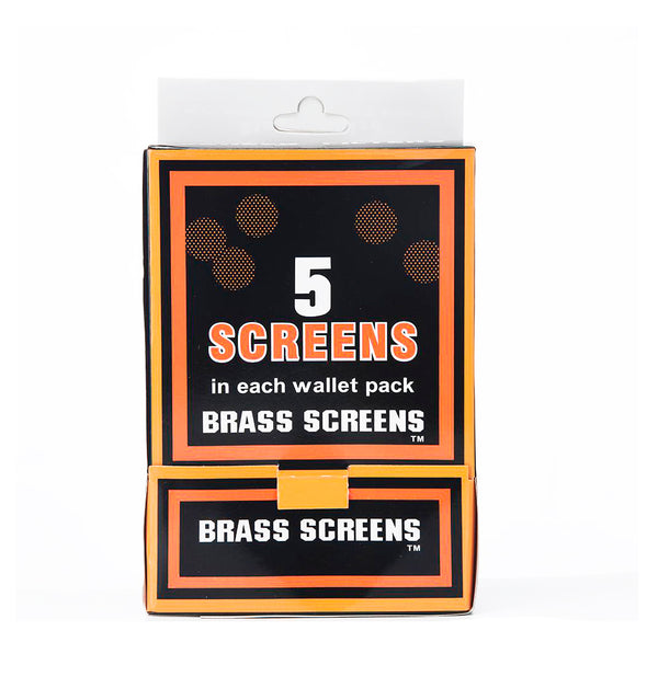 Brass Screen Five Screens in Each Wallet Pack 100 Wallet in Box