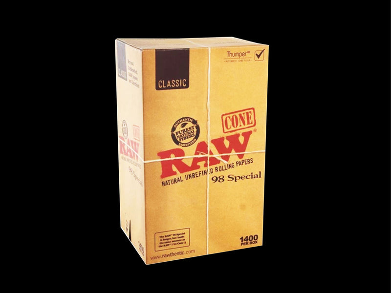 Raw Classic 98 special Pre-Rolled Cone 1400ct