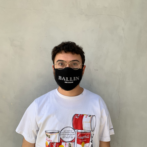 Ballin Reversible Unisex Face Mask