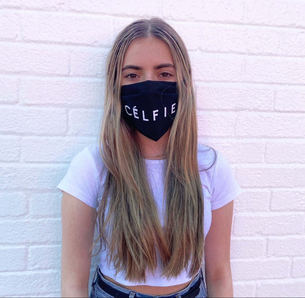 CÉLFIE Unisex Reusable Face Mask