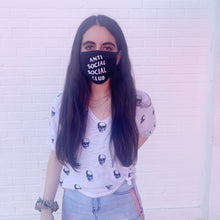 Load image into Gallery viewer, ASSC Anti Social Social Club Reversible Unisex Face Mask