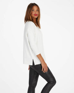 Perfect Length Top, Dolman 3/4 Sleeve - Powder