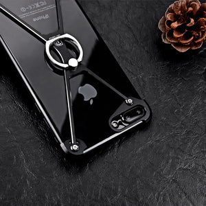 Oatsbasf Metal Bumper Ring Grip Holder For iPhone 7/7 Plus & 8/8 Plus - Buzztech Electronics and Gadgets