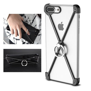 Oatsbasf Metal Bumper Ring Grip Holder For iPhone 7/7 Plus & 8/8 Plus