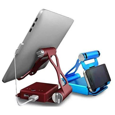 Podium Style Stand With Extended Battery Up To 200% For iPad, iPhone And Other Smart Gadgets