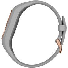 Load image into Gallery viewer, Garmin 010-01995-12 vivosmart 4 Activity Tracker (Gray with Rose Gold Hardware, Small/Medium Wrists)