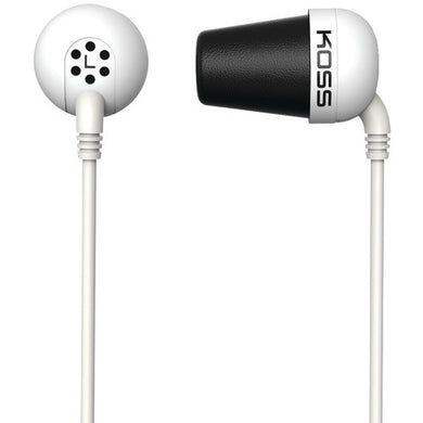 Koss Plug In-ear Earbuds (white) (pack of 1 Ea)