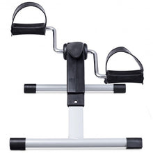 Load image into Gallery viewer, Folding Under Desk Indoor Pedal Exercise Bike for Arms Legs