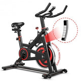 30 lbs Home Gym Cardio Exercise Magnetic Cycling Bike