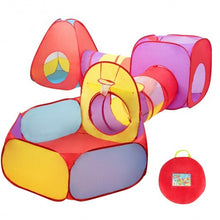 Load image into Gallery viewer, 7 pcs Kids Ball Pit Pop Up  Play Tents