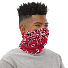Load image into Gallery viewer, Classic Style Red Bandana Neck Gaiter