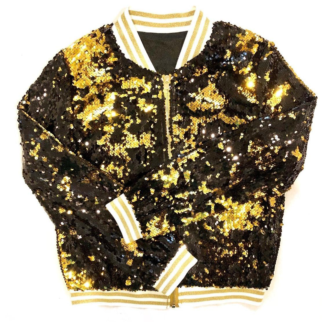 """GLEAUX GIRL"" Sequin Jacket"