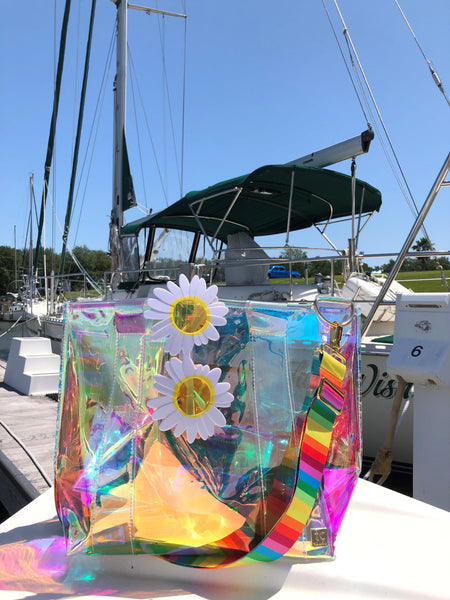 """ISLAND TIME"" BEACH TOTE"