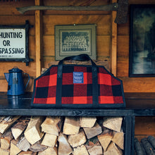 Load image into Gallery viewer, Faribault Woolen Mills Log Carrier