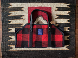 Faribault Woolen Mills Log Carrier