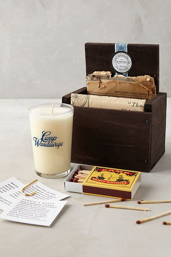 Anthropologie Candle Set