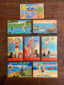 Antique Postcard Set