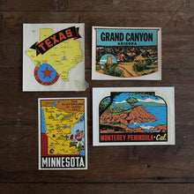 Load image into Gallery viewer, Deadstock Vintage Tourist Water Decals