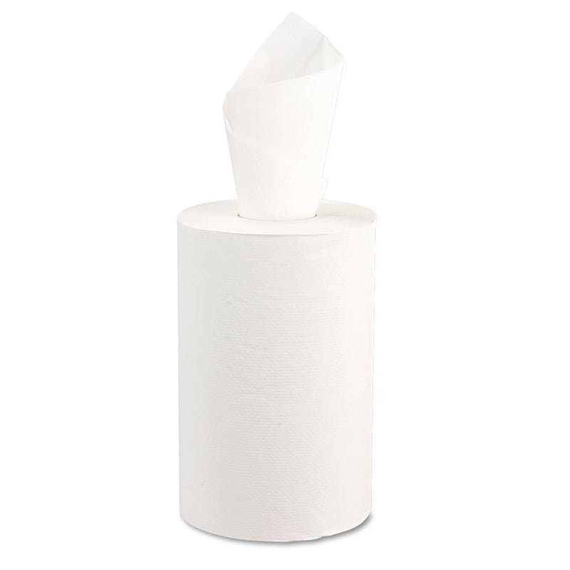 Windsoft Hardwound Roll Towels, 8 X 350 Ft, White, 12 Rolls/Carton - WIN109B - TotalRestroom.com