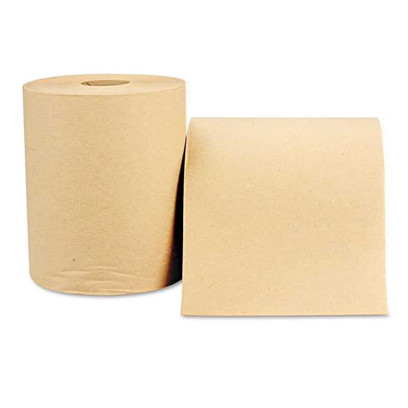 Windsoft Hardwound Roll Towels, 8 X 800 Ft, Natural, 12 Rolls/Carton - WIN1280 - TotalRestroom.com