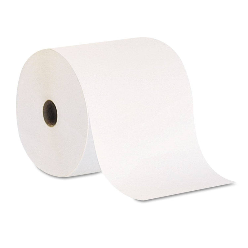 Georgia Pacific Pacific Blue Basic Nonperf Paper Towel Rolls, 7 7/8 X 800 Ft, White, 6 Rolls/Ct - GPC26601 - TotalRestroom.com