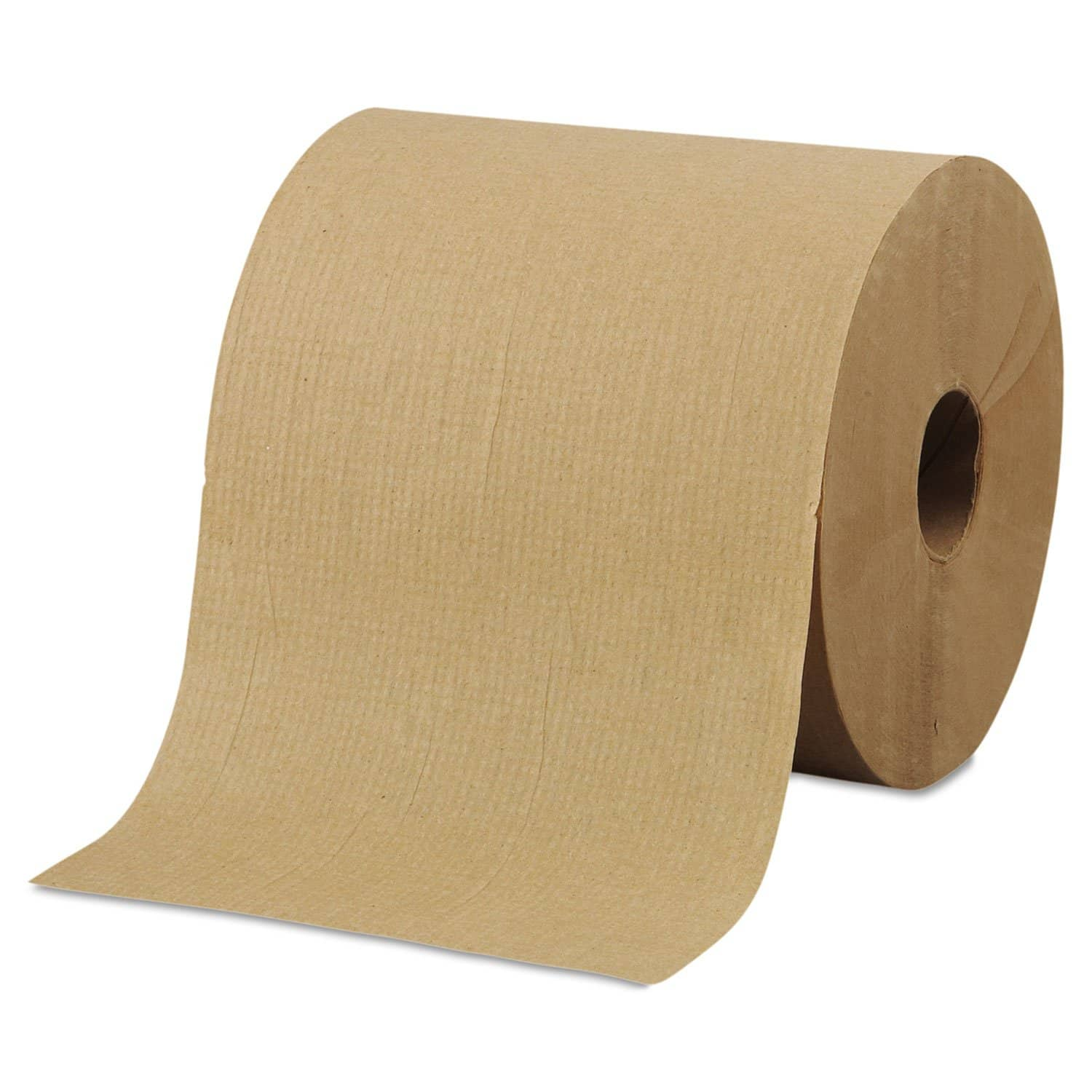 "Morcon Hardwound Roll Towels, 8"" X 800 Ft, Brown, 6 Rolls/Carton - MORR6800 - TotalRestroom.com"