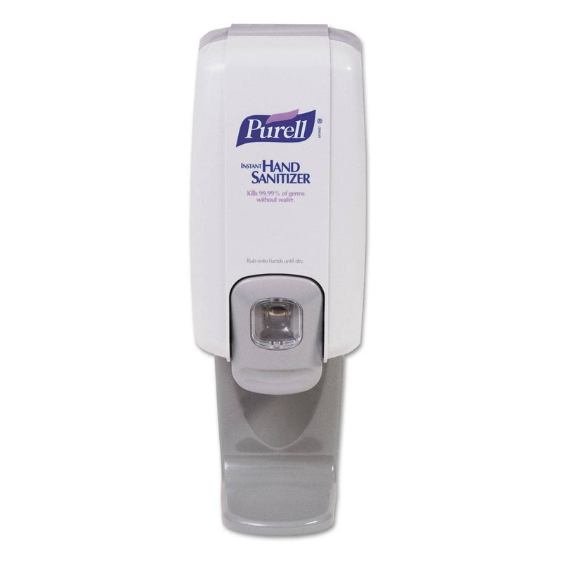 "Gojo Shield NXT Floor And Wall Protector for Liquid Soap Dispenser, 1 L, 4"" X 4"" X 5.08"", White - GOJ214506 - TotalRestroom.com"