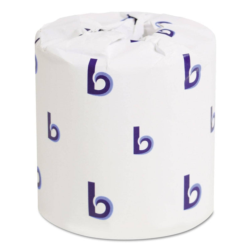 Boardwalk One-Ply Toilet Paper, Septic Safe, White, 1000 Sheets, 96 Rolls/Carton - BWK6170 - TotalRestroom.com