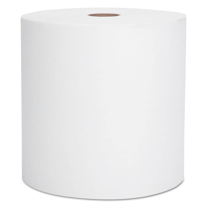 "Scott Essential High Capacity Hard Roll Towel, 1.5"" Core 8 X 1000Ft, White,12 Rolls/Ct - KCC01000 - TotalRestroom.com"