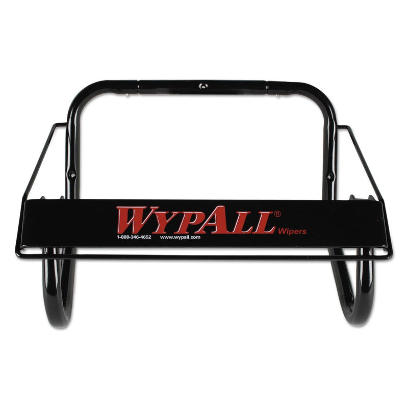WypAll Jumbo Roll Dispenser, 16 4/5W X 8 4/5D X 10 4/5H, Black - KCC80579 - TotalRestroom.com