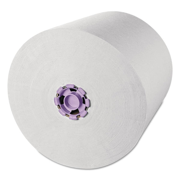 "Scott Essential High Capacity Hard Roll Towel, White, 8"" X 950 Ft, 6 Rolls/Carton - KCC02001"