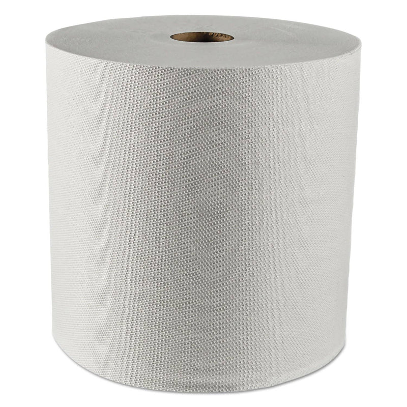 "Scott Essential Plus Hard Roll Towels, 1.5"" Core, 8"" X 425 Ft, White, 12 Rolls/Carton - KCC01080 - TotalRestroom.com"