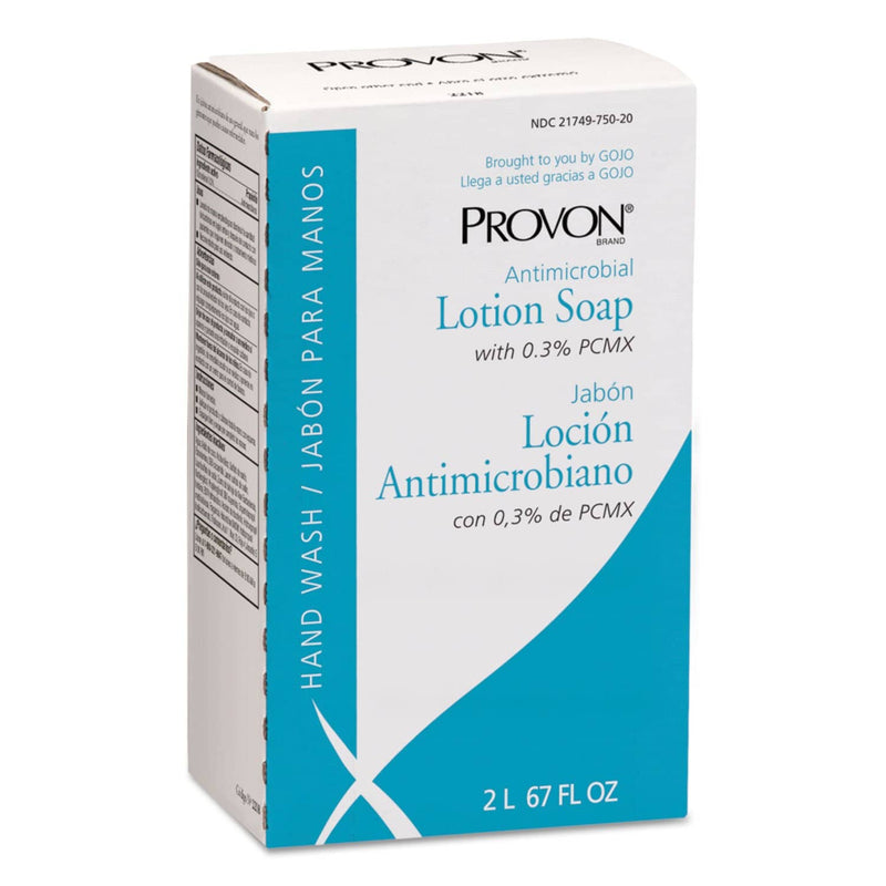 Provon Antimicrobial Lotion Soap With Chloroxylenol, Nxt 2 L Refill, 4/Carton - GOJ221804 - TotalRestroom.com