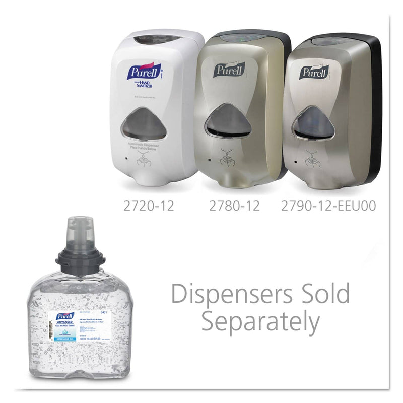 Purell Advanced Hand Sanitizer Skin Nourishing Gel, 1200 Ml Refill, 4/Carton - GOJ545104 - TotalRestroom.com