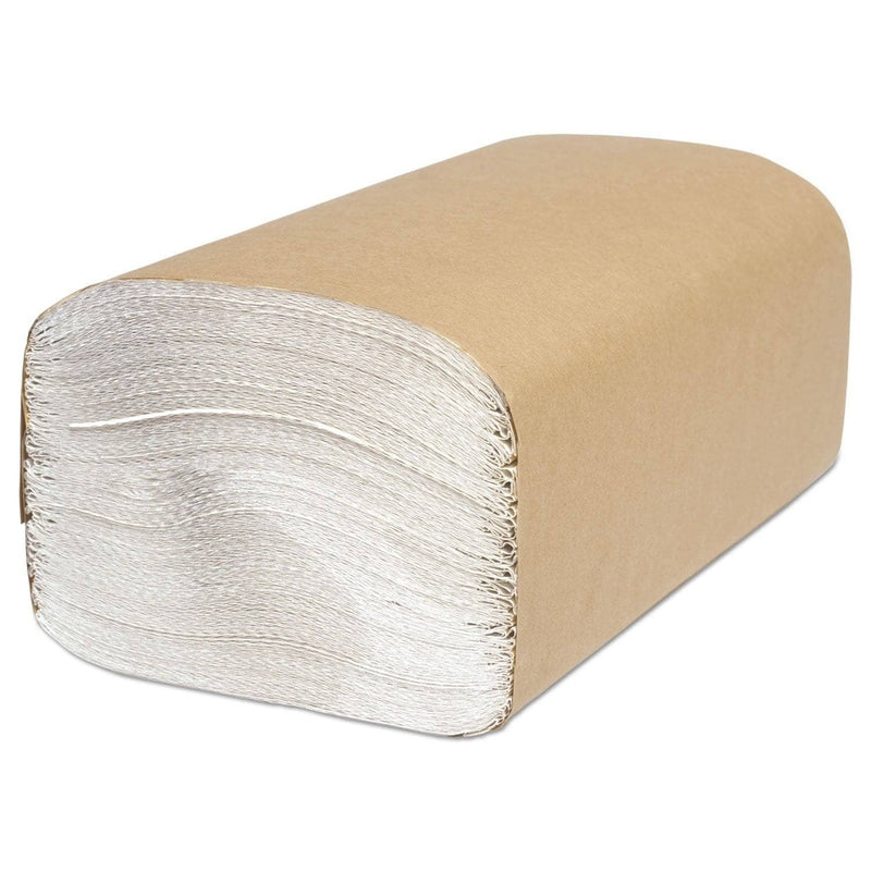 Cascades Select Folded Towel, Singlefold, White, 9 1/8 X 10 1/4, 250/Pack, 4000/Carton - CSDH160 - TotalRestroom.com