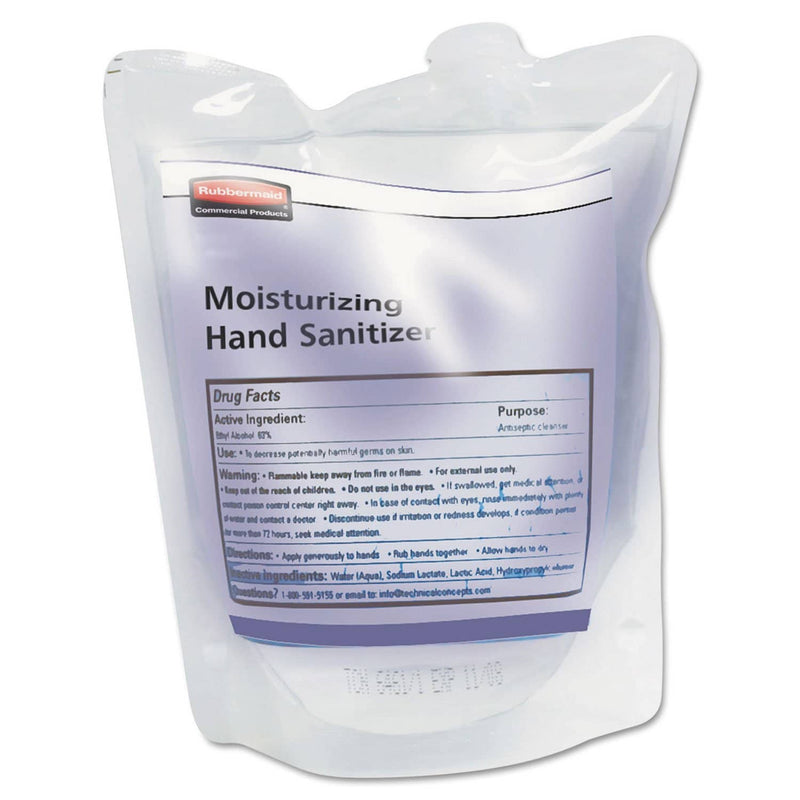 Rubbermaid Spray Moisturizing Hand Sanitizer Refill, Fragrance Free, 400Ml, 12/Carton - RCP450030CT - TotalRestroom.com