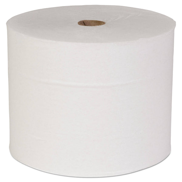 Scott Pro Small Core High Capacity/Srb Bath Tissue, Septic Safe, 2-Ply, White, 1100 Sheets/Roll, 36 Rolls/Carton - KCC47305