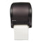 San Jamar Tear-N-Dry Essence Automatic Dispenser, Classic, Black, 11 3/4 X 9 1/8 X 14 7/16 - SJMT8000TBK - TotalRestroom.com