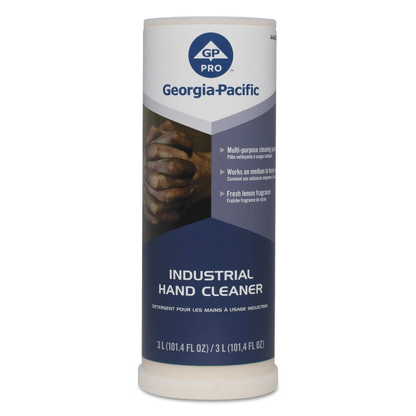 Georgia Pacific Industrial Hand Cleaner, 300 Ml, Lemon, 4/Carton - GPC44626