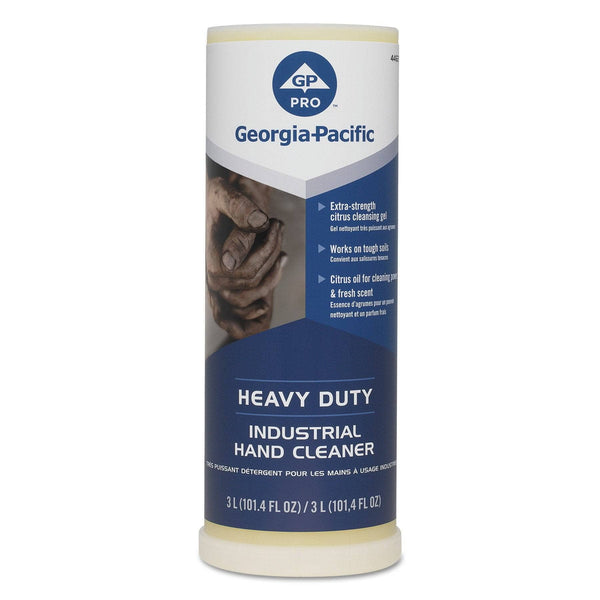 Georgia Pacific Industrial Hand Cleaner, 300 Ml, Citrus, 4/Carton - GPC44627
