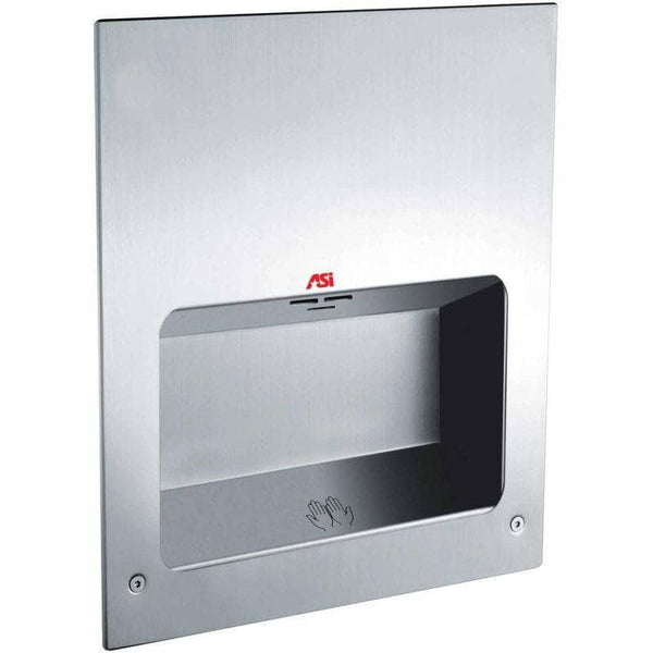 ASI 0135-1 Automatic Hand Dryer, 110-120 Volt, Recessed-Mounted, Stainless Steel