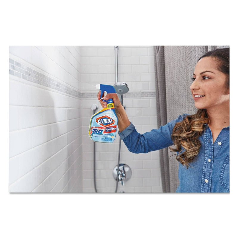 Clorox Mildew Root Penetrator And Remover With Bleach, 32Oz Smart Tube Spray, 9/Carton - CLO00263 - TotalRestroom.com
