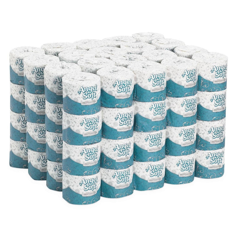 Georgia Pacific Angel Soft Ps Premium Bathroom Tissue, Septic Safe, 2-Ply, White, 450 Sheets/Roll, 80 Rolls/Carton - GPC16880 - TotalRestroom.com